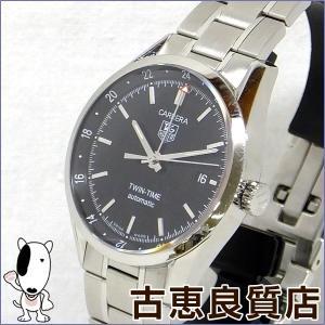 タグホイヤー TAG HEUER カレラ ツインタイム メンズ 腕時計 裏スケ 自動巻き WV2115-0 (hon)...