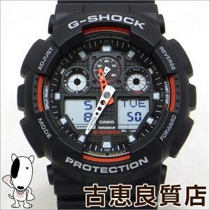 極美品 CASIO カシオ G-SHOCK  Gショック 腕時計 メンズ GA-100-2AJF(hon)|koera