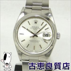 ROLEX ロレックス オイスターパーペチュアルデイトメンズ  腕時計 自動巻き 15200 P番 (hon)|koera