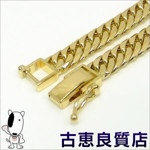 K18 6面W喜平 20.3g 20.5cm  ゴールド ブレスレット  中古(hon)|koera