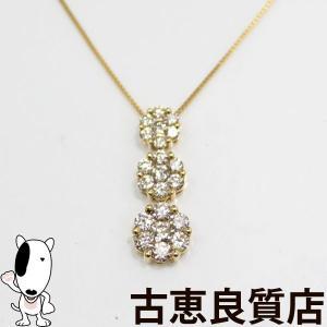 K18 NC ダイヤネックレス 0.50ct 1.6g 約40cm 中古(hon)|koera
