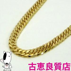 K18 6面W喜平 30.2g 60cm ゴールドネックレス 中古(hon)|koera