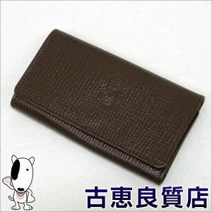 プレミアム会員・ポイント5倍LOEWE ロエベ 6連キーケース レザー ブラウン(hon)|koera