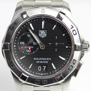 TAG HEUER タグホイヤー アクアレーサー グランドデイト アラーム メンズ   腕時計 クオーツ WAP111Z.BA0831(hon)...