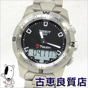 美品・買取品 TISSOT ティソ T-TOUCH2 ティータッチ・ツー デジアナ メンズ腕時計 クォーツ T047.420.11.051.00  中古(hon)|koera