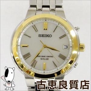 極美品 セイコー SEIKO スピリット  ソーラー電波 メンズ 腕時計 デイト表示  SBTM188 7B52-0AH0(hon)|koera