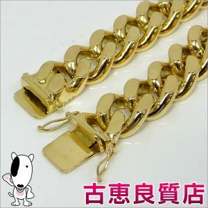 K18 2面喜平 131.3g 19cm ゴールド ブレスレット 中古(hon)|koera