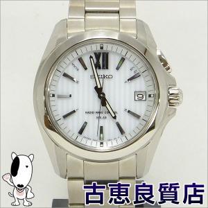 セイコー SEIKO ブライツ BRIGHTS ソーラー電波時計 メンズ 腕時計 SAGZ063 7B24-0AT0 ステンレス 中古・買取品(hon)|koera