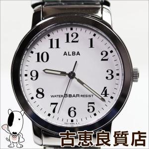 新品/未使用品/SEIKO セイコー ALBA アルバ スタンダード AQBS935 メンズ 腕時計  エクステンションバンド/買取品/質屋出店/MT985|koera