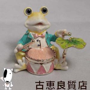 ジュエリーボックス 宝石箱 ケロの音楽隊(ドラム) ジュエリーケース インテリア 小物 プレゼント 無料ラッピング包装可 koera