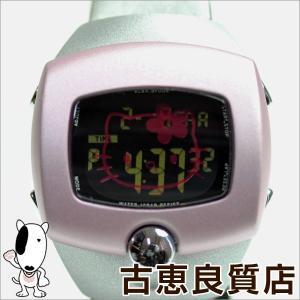 SEIKO セイコー ALBA アルバ スプーン SPOON ハローキティ Hello Kitty レディース 腕時計 ピンク サンリオ/中古/質屋出店/あすつく/MT1071|koera