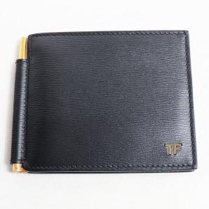 トムフォード TOM FORD マネークリップ  二つ折り財布 マネークリップ メンズ Y0231T ブラック/中古|koera