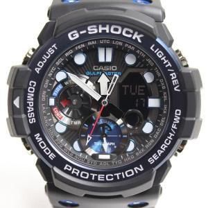CASIO カシオ G-SHOCK Gショック ガルフマスター GN-1000B-1AJF ツインセンサー アナデジ メンズ腕時計/未使用品/買取品/MT2942 koera