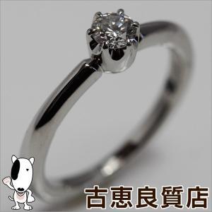 4℃ ヨンドシー Pt950 リング 指輪 サイズ10号 一粒ダイヤ D0.209ct/中古/質屋出店/あすつく|koera