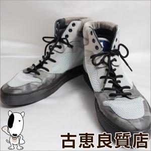 バレンシアガ BALENCIAGA メンズ 男性靴 ハイカットスニーカー サイズ44 日本サイズ約27cm/中古/質屋出店/あすつく/値下げ|koera