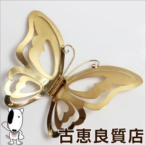 K18 ブローチ  イエローゴールド 蝶 バタフライ クリップ 8.5g/中古/質屋出店/あすつく|koera