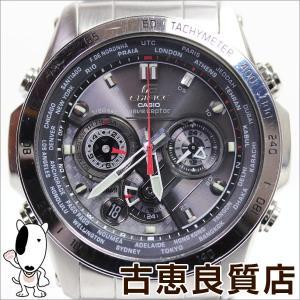 カシオ CASIO EDIFICE カシオ エディフィス EQW-M1000D-1AJF メンズウォッチ 腕時計 電波ソーラーウォッチ  MULTIBAND6/中古/質屋出店/MT950|koera