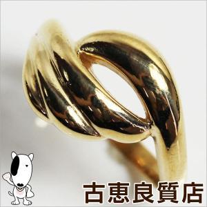 プレミアム会員ポイント5倍 K10 イエローゴールドリング 指輪 サイズ9号 3.1g/中古/あすつく/MR1171|koera
