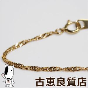 K18 ネックレス スクリューグラデーション 5.2g 42cm ゴールド/中古/あすつく/MN1149|koera