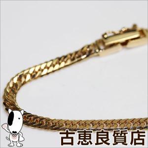 K18 W6面喜平 キヘイ 10.3g 40cm ネックレス ゴールド/中古/あすつく/MN1148|koera