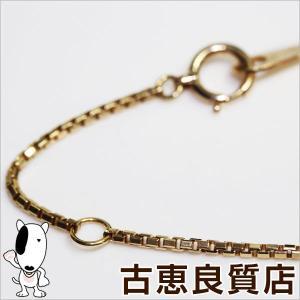 K18 ベネチアン 4.1g 40cm ネックレス ゴールド/中古/あすつく/MN1183|koera