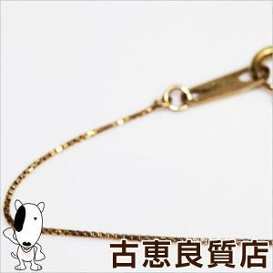 K18 ベネチアン 1.2g 40cm ネックレス ゴールド/中古/あすつく/MN1178|koera