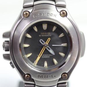 CASIO カシオ タフソーラー メンズ 腕時計 G-SHOCK ジーショック MR-G チタン MRG-121T-8A/あすつく/MT1282/中古|koera