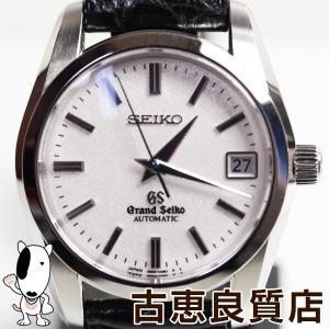 /MT1399//中古・美品セイコー SEIKO/GRAND SEIKO グランドセイコー メンズ 腕時計 自動巻き/オートマ ブルースティール/革ベルト SBGR087/9S65/あすつく|koera