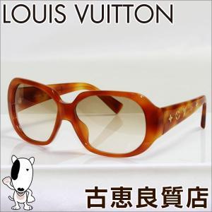 ルイ ヴィトン Louis Vuitton サングラス レディース オプセシオンGM Z0028E 59□14 ブラウン べっ甲柄 モノグラム フラワー 眼鏡 めがね メガネフレーム/中古|koera