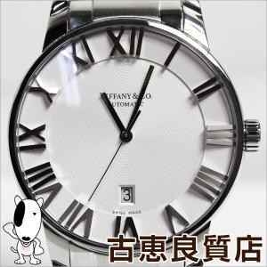 腕時計 ティファニー Tiffany Z1800.68.10A21A00A アトラス ドーム 自動巻き シースルーバック/中古/質屋出店/あすつく/MT1179|koera