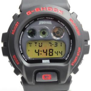 カシオ CASIO 腕時計 DW-6900 アメージングスパイダーマン コラボ メンズ ジーショック G-SHOCK ブラックあすつく/MT1284/中古|koera
