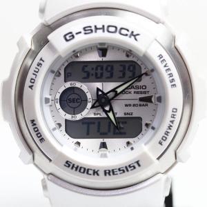 カシオ CASIO G-SHOCK ジーショック  G-300LV-7AJF クオーツ ホワイト メンズ/レディース 腕時計 あすつく/MT1289/中古|koera