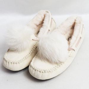 UGG アグ WOMENS DAKOTA POM POM 1019015Wレディース 女性靴 5 日本サイズ約22cm ポンポン/未使用品/買取品/質屋出店|koera