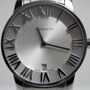 ティファニー Tiffany Atlas Domeアトラスドーム クオーツ メンズ腕時計 Z1800...