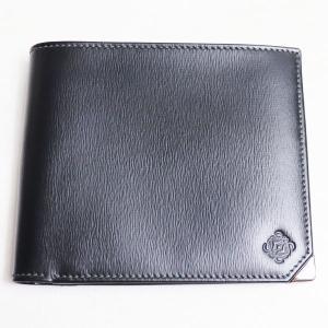ロエベ LOEWE 2つ折り財布  メンズ折財布 小銭入れなしタイプ ブラック/中古/美品|koera