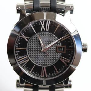 ティファニー Tiffany Atlas Gent アトラスジェント メンズ腕時計 黒文字盤 自動巻き 42mm Z1000.70.12A10A00A/中古/質屋出店/MT2820|koera