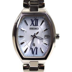 セイコー SEIKO LUKIA ルキア レディー・トノー 電波ソーラー レディース腕時計 SSQW027/1B22-0BY0/中古/質屋出店/MT2925|koera