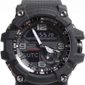 CASIO カシオ G-SHOCKMUDMASTER Twin Sensor メンズ腕時計 GG-1035A-1AJR 35th Anniversary BIG BANG BLACK /中古/MT2932|koera