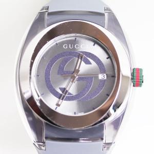 MT3052 GUCCI グッチ SYNC シンク クォーツ ユニセックス 腕時計 YA137109...