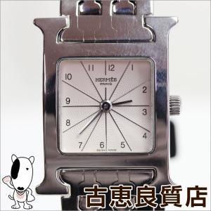 HERMES エルメス Hウォッチ レディース 腕時計 クォーツ HH1.210 ステンレスベルト/中古/質屋出店/あすつく/MT1075 koera