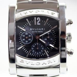 ブルガリ BVLGARI AA44SCH/AA44C14SSDCH アショーマ メンズ 腕時計 自動...
