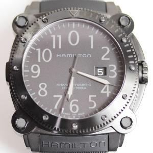 Hamilton ハミルトン KHAKI カーキBELOWZERO ビロウゼロ メンズ腕時計黒文字盤...