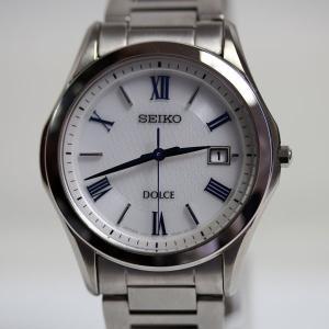 セイコー SEIKO ドルチェ DOLCE メンズウオッチ SADM007 白文字盤 メンズ腕時計 ...