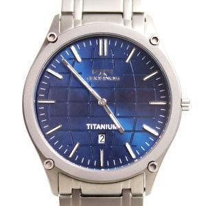 テクノス TECHNOS腕時計 T6A64 メンズ腕時計 チタン/中古/MT2768|koera