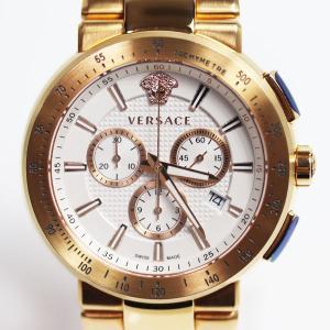 ヴェルサーチ VERSACE 腕時計 MYSTIQUE SPORT ホワイト文字盤 クロノグラフ VFG180016 メンズ クォーツ 腕時計 /中古/美品/質屋出店/MT2879|koera