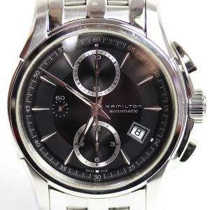 Hamilton ハミルトン Jazzmaster ジャズマスター オートクロノ メンズ腕時計黒文字...