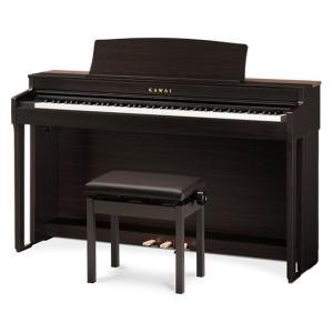 【レンタル】電子ピアノ カワイ CN39R(プレミアムローズウッド調)納期予定:2021年6月下旬以...