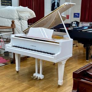 【中古再調整品グランドピアノ】ヤマハ G2<ホワイト特注>|kogapiano