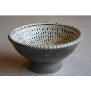 小鹿田焼き(おんたやき) 3寸深皿P|kohanchawanhaduki