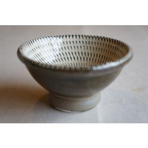 小鹿田焼き(おんたやき) 3寸深皿R|kohanchawanhaduki
